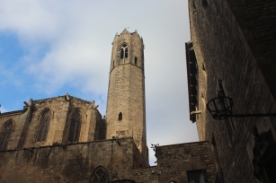 The Bell Tower of Capella Reial