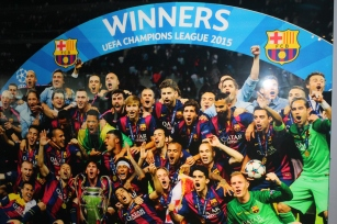 The 2015 Champions League Winners