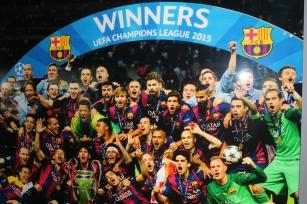 The 2015 Champions League Winners