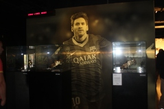 Messi's Three Golden Boots