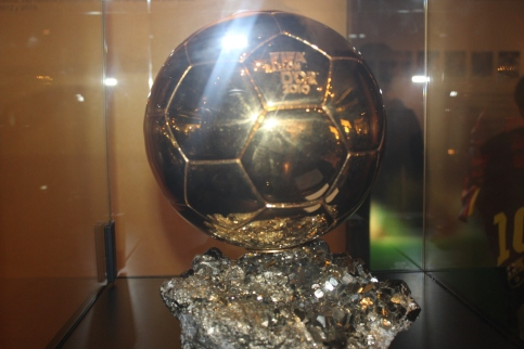 One of Messi's Five Ballon d'Ors