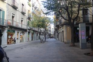 """""""La Rambla"""" of Girona"""