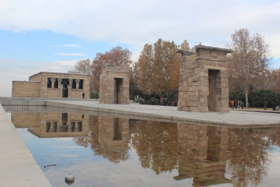 Templo de Debod, constructed by Egyptians