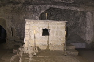 Altar with St. Agrippinus' remains